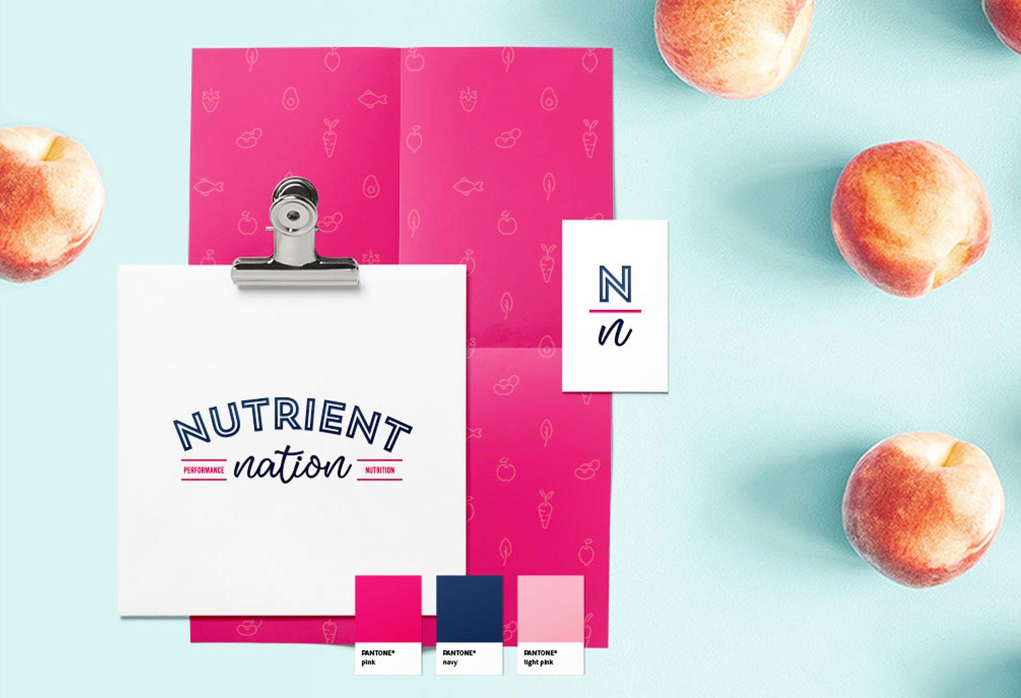 Nutrient Nation - Logo Design