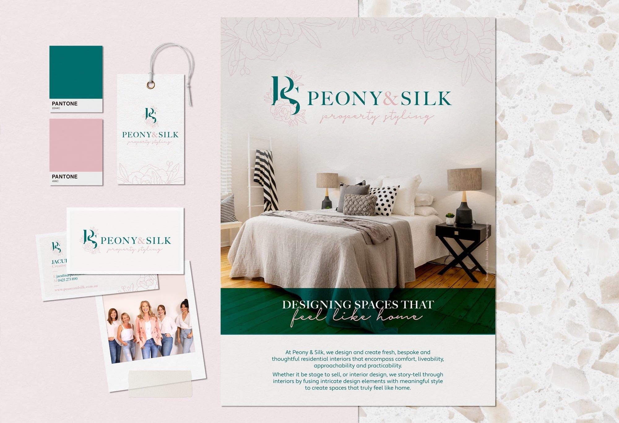 Peony & Silk - Rebrand