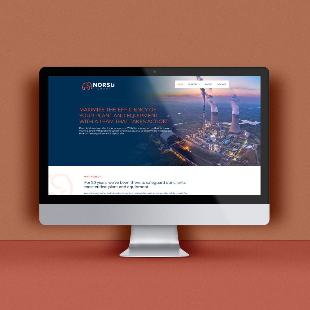 Norsu Group - Web Design