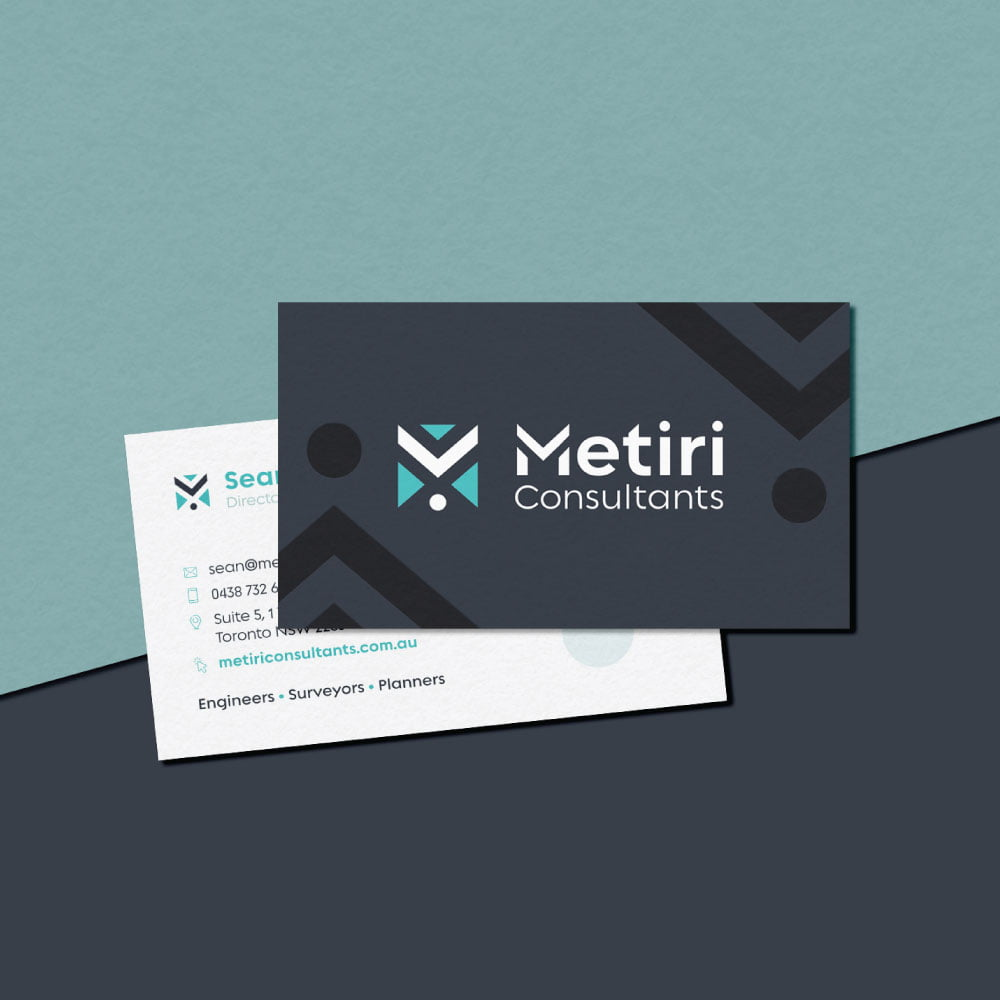 Metiri Consultants - Business Cards