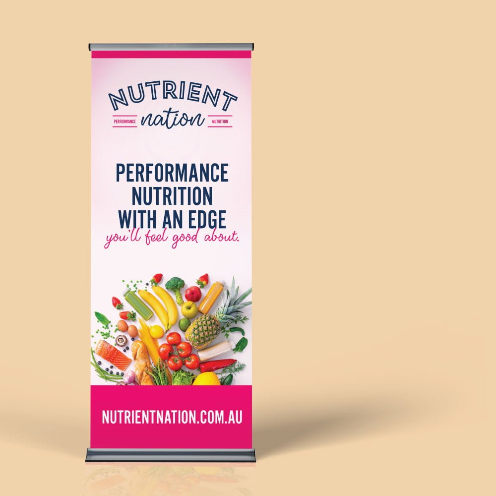 Nutrient Nation - Pull Up Banner