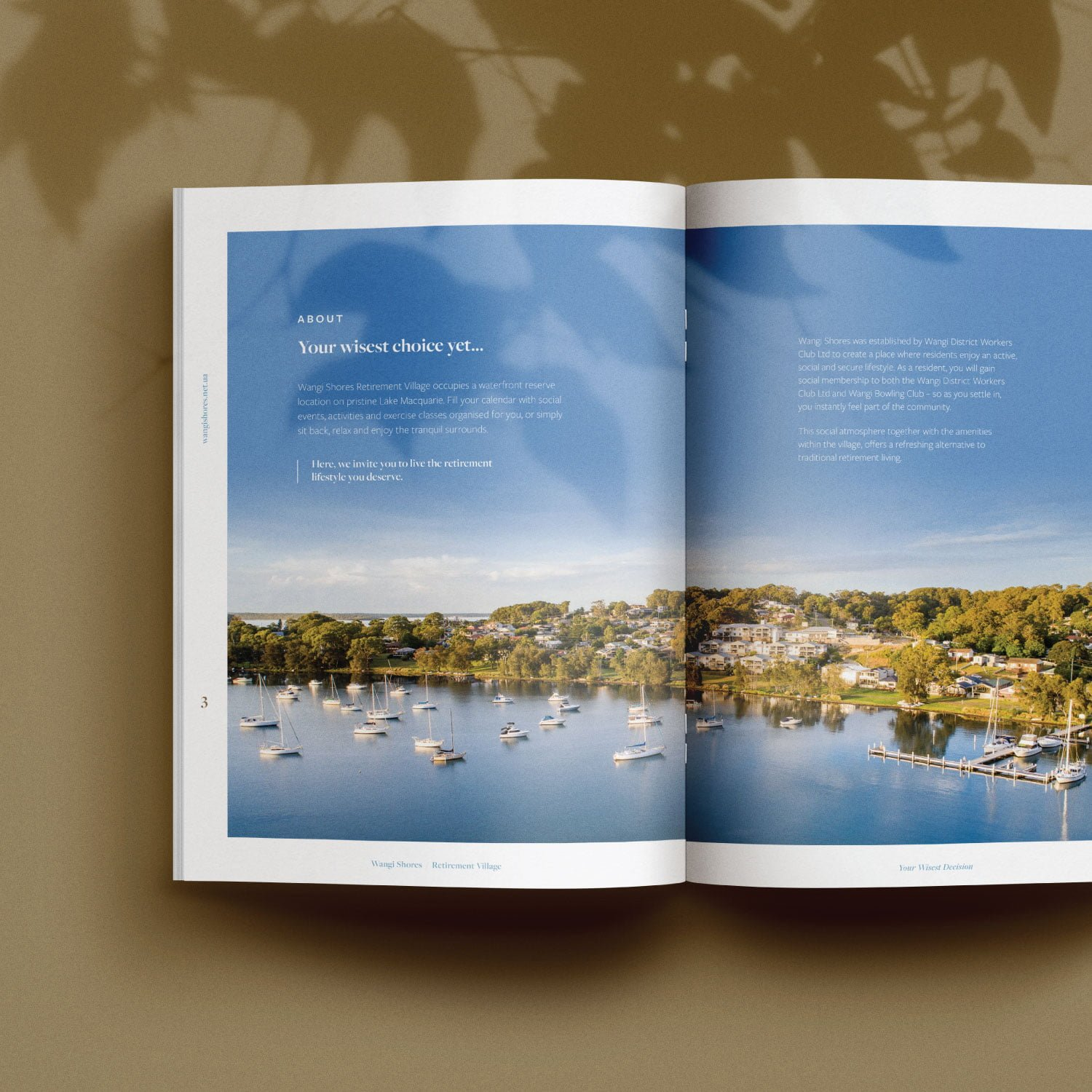 Wangi Shores - Brochure Design
